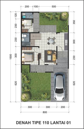Blukid Residence 3 Tipe Ordchid